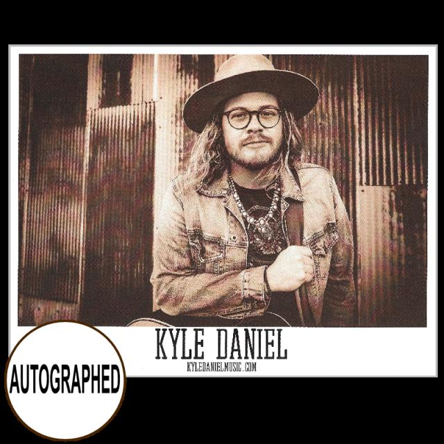 Kyle Daniel AUTOGRAPHED 8x10